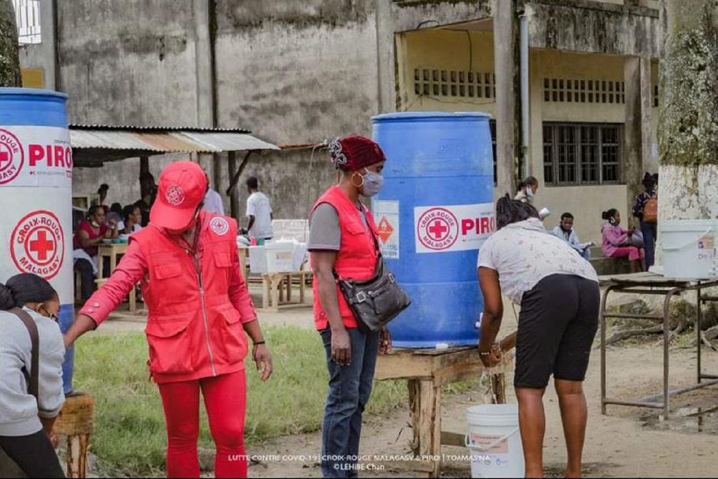 Croix-Rouge Malagasy RAPPORT PANDEMIE
